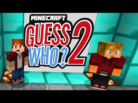 Minecraft: Funny Guess Who 2.0! Mini-Game w/Mitch & Lachlan!