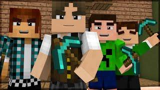 Minecraft: BUILDÃO COM YOUTUBERS! (BUILD BATTLE)