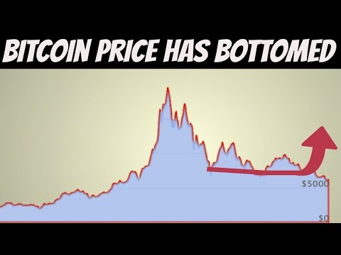 Is The Bitcoin Price Finally Reaching It's Bottom? ( Probably )