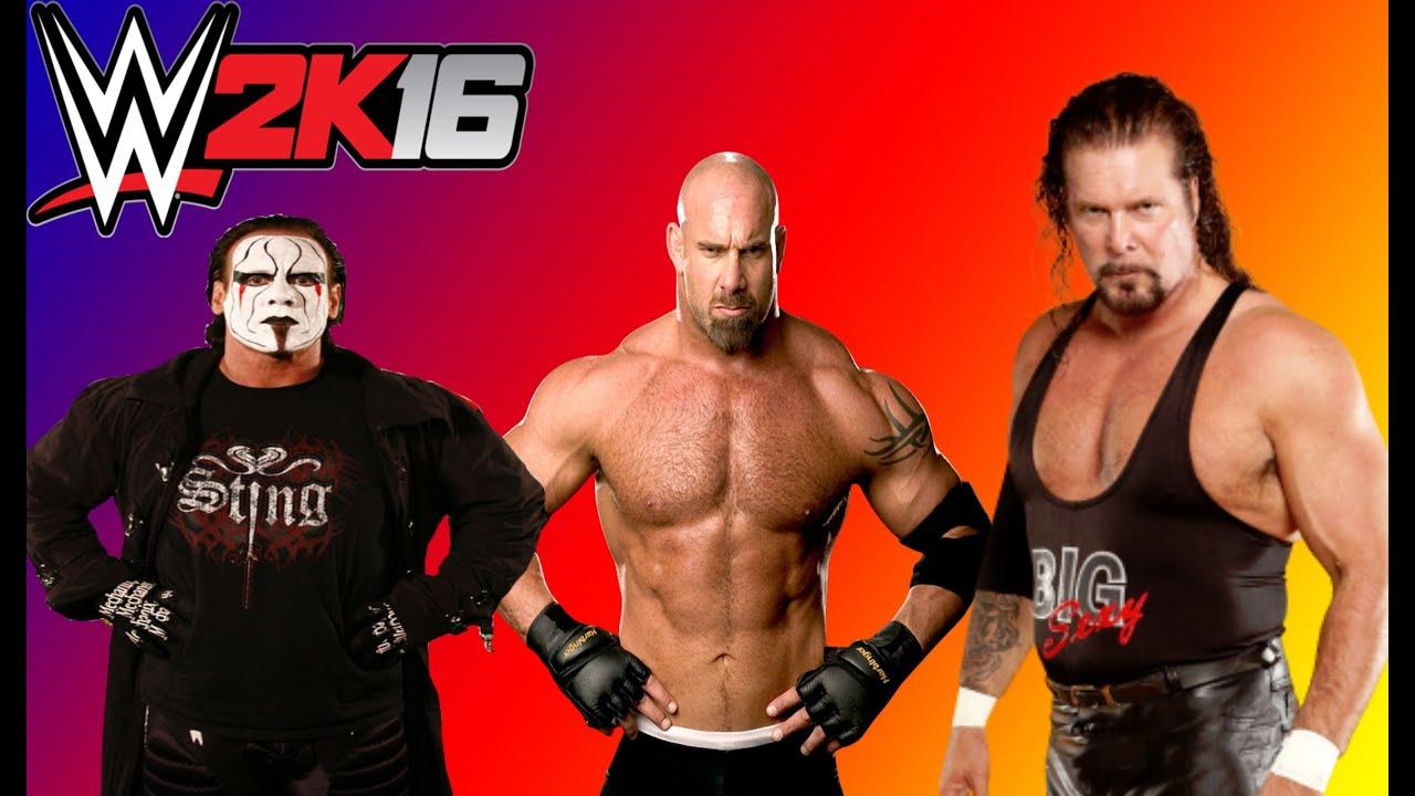 Wcw Bogus Sting: Sting VS Goldberg VS Kevin Nash