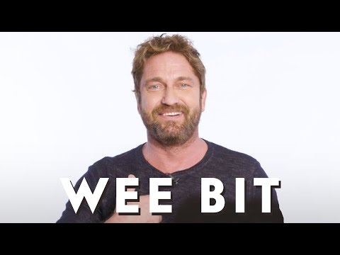 Gerard Butler Teaches You Scottish Slang  Vanity Fair