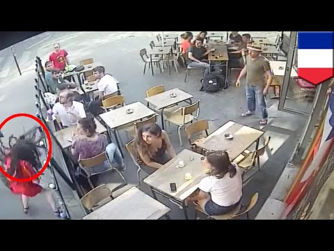 France shocked by video of woman slapped by harasser - TomoNews