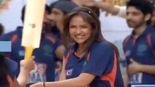 manchu-lakshmi-battingcricket-match-memu-saitam-event-live-memu-saitham