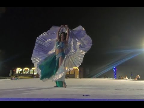 Live Belly Dance Performance   Dubai Desert Safari   ABC Tours 2020 (Part 8b).