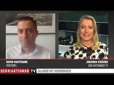 Zertifikate-Aktuell mit David Hartmann: Zalando-Aktie auf Rekordstand nach Zahlen - 12.08.2020