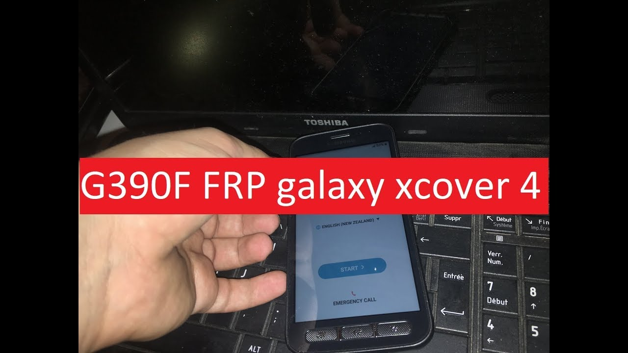 G390F FRP galaxy xcover 4 Google Account Android / ANDROID 7 0