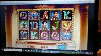 Online Casino Club   Wieder einmal Book of Dead   Am Ende witzig