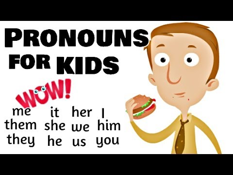 Pronouns for Kids | For Grade 1 and Grade 2
