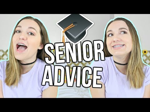 How To Survive Senior Year of High School! Senior Year Advice!!
