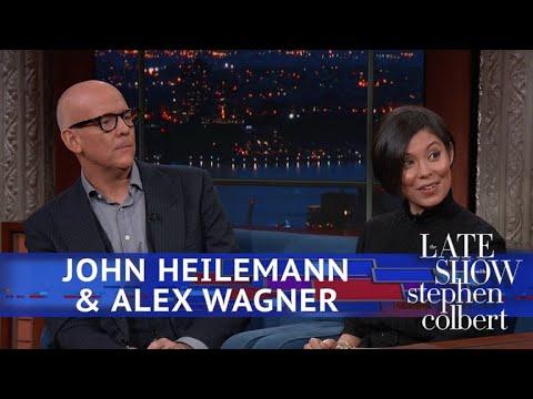 Stephen Colbert vs. John Heilemann & Alex Wagner On Media's Coverage On Stormy Daniels
