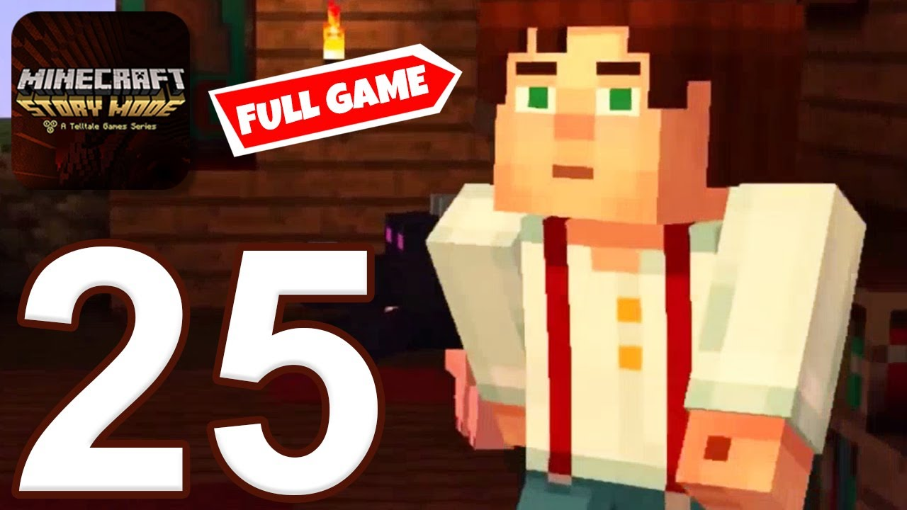 Download Minecraft: Story Mode - Gameplay Walkthrough Part 25 - All Episodes and Ending (iOS, Android)