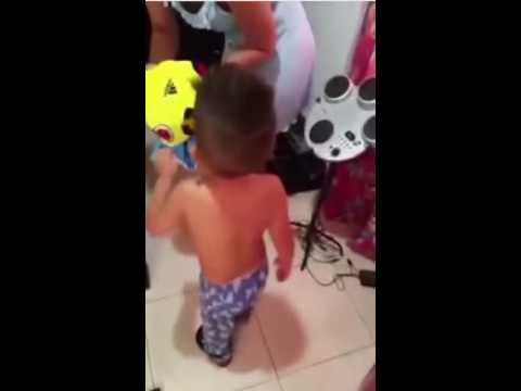 El niño colombiano que es hincha fanático de Lio Messi