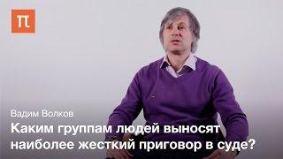 Статистический анализ приговоров суда - Вадим Волков