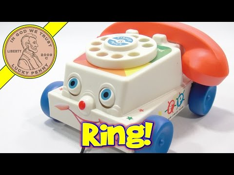 Fisher-Price Toys Chatter Telephone, A Rotary Phone?