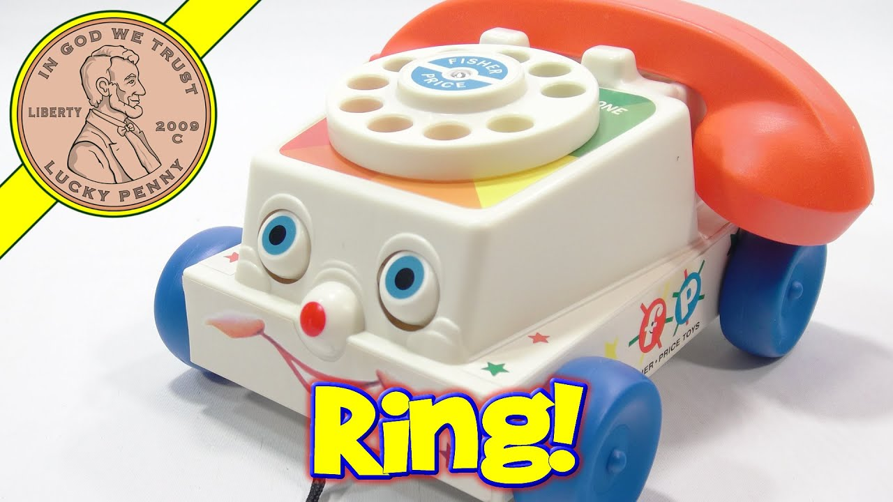 fisher price toys chatter telephone a rotary phone  [ 1280 x 720 Pixel ]