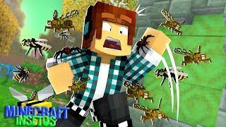 Minecraft Insetos #01 -  NOVA SÉRIE SURVIVAL EM UM MUNDO DE INSETOS!