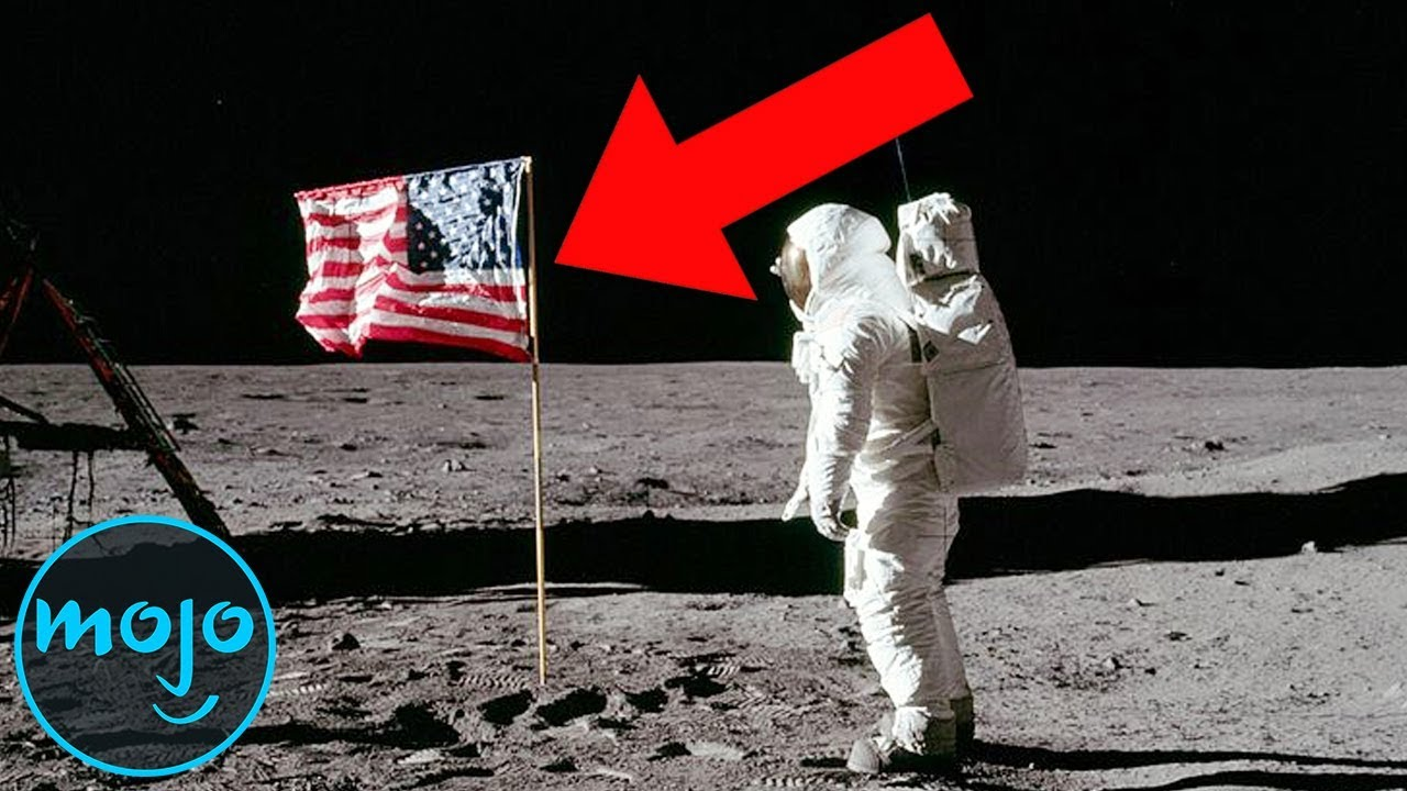 Top 5 Apollo 11 Moon Landing Conspiracies - YouTube