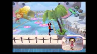 Ape Escape 2 glitch: Pink Monkey leaves the stage