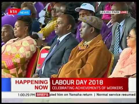 COTU Secretary General Francis Atwoli's speech during Labour Day Celebrations