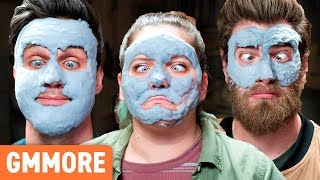 We Try Bubble Face Masks