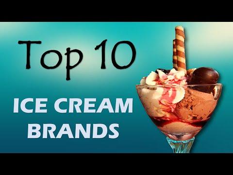 Top 10 Ice Cream Brands