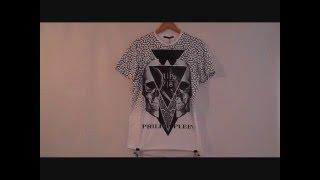 Обзор брендовых футболок Philipp Plein.
