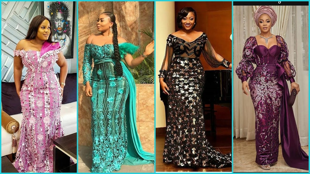 Latest Lace Gowns 2021