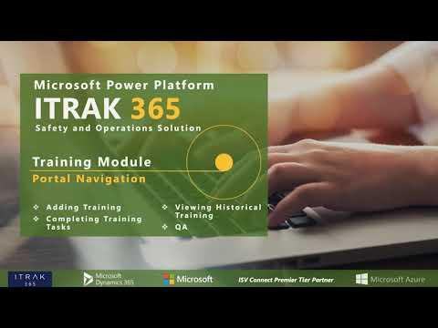 ITRAK 365 Training Module: Portal Navigation