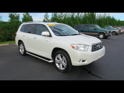2008 Toyota Highlander Limited V6 4wd Full Tour Start Up At Mey