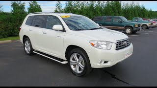 2008 Toyota Highlander Limited V6 4WD Full Tour & Start-up at Massey Toyota