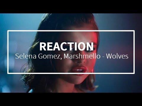 Selena Gomez, Marshmello - Wolves - REACTION