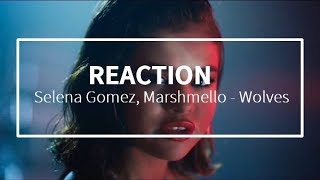 Selena Gomez, Marshmello - Wolves - REACTION