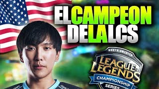ASÍ FUE LA FINAL DE LA LCS de NORTE-AMÉRICA!! | Team Liquid vs 100 Thieves | LCS Español (LVP)