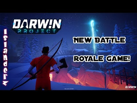 CRAZY NEW SURVIVAL BATTLE ROYALE GAME | Darwin Project | IslanderZ |