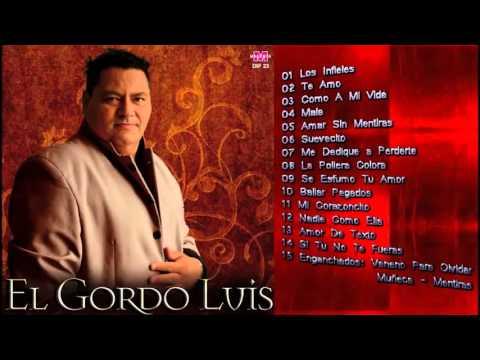 El Gordo Luis   15 Grandes Exitos Enganchado CD Completo