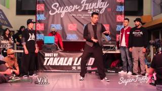 Super Funky Vol.3 Popping Judge Hugo (Mr. Smooth) Showcase