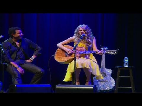 CNN: Taylor Swift performs w/ legends Vince Gill and Lionel Richie