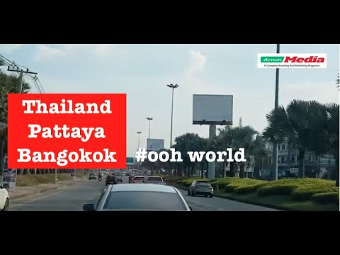 #Pattaya #Thailand #billboards #ooh  outdoor advertising at  Bangkok , advertising #oohworld