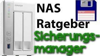 NAS Ratgeber - QNAP Sicherungsmanager (Backups automatisieren)