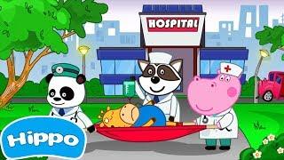 Гиппо 🌼 Доктор Хирург: Игры Больница 🌼 Мультик игра для детей (Hippo)