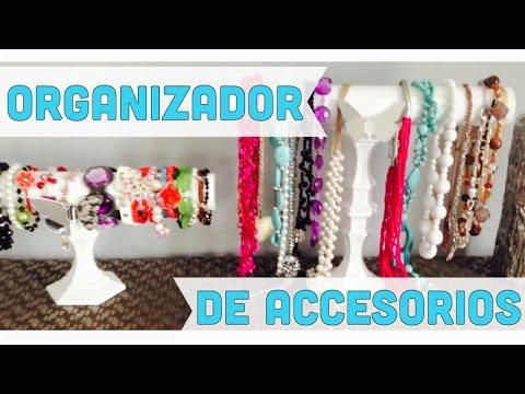 Organizador de accesorios collares y pulseras youtube for Organizador de cocina accesorios