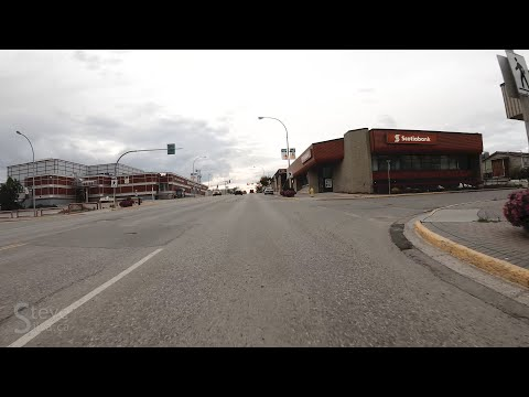 Driving Around Fort St. John, B.C.