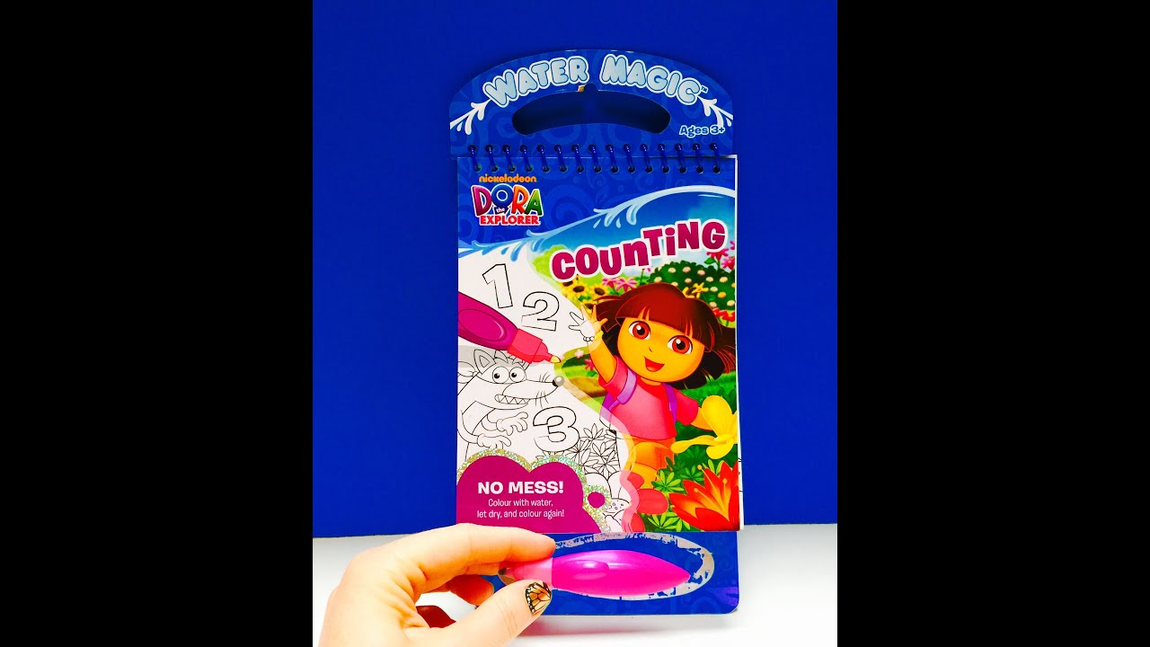 Dora The Explorer Water Magic Aquadoodle Coloring Book Toy ...