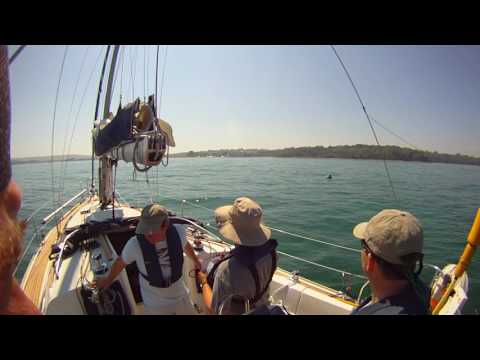 Entering Bembridge By Yacht