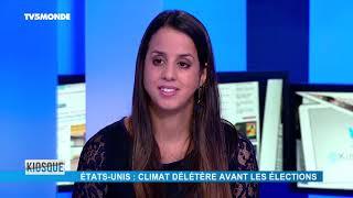 Kiosque : Climat tendu aux USA / Élections au Brésil / Italie / Affaire Khashoggi