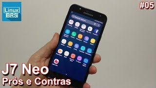 Samsung Galaxy J7 Neo - Prós e Contras