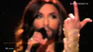 Победитель Евровидение 2014 Австрия Кончита Вурст Winner Eurovision 2014 Austria