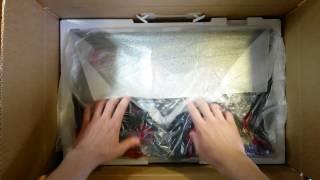 распаковка и краткий обзор телевизора LG 22LH450V
