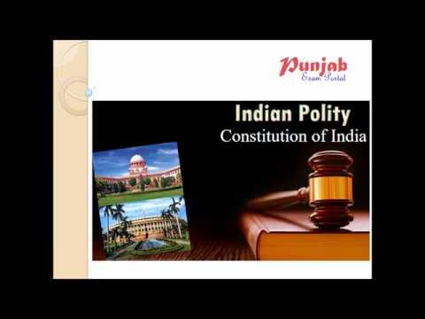 Indian Polity (ਭਾਰਤੀ ਰਾਜਨੀਤਕ ਵਿਵਸਥਾ)