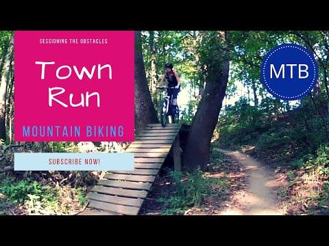 Town Run Trail Park, Indianapolis - Mountain Biking